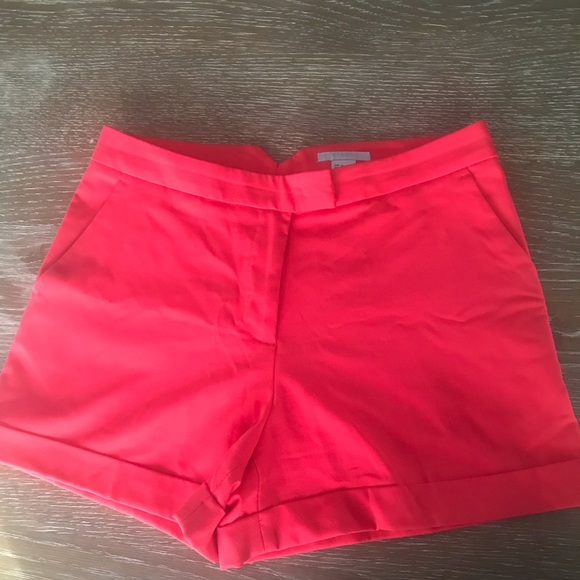 H&M Pants - H&M Dressy Shorts Deep Coral almost new condition